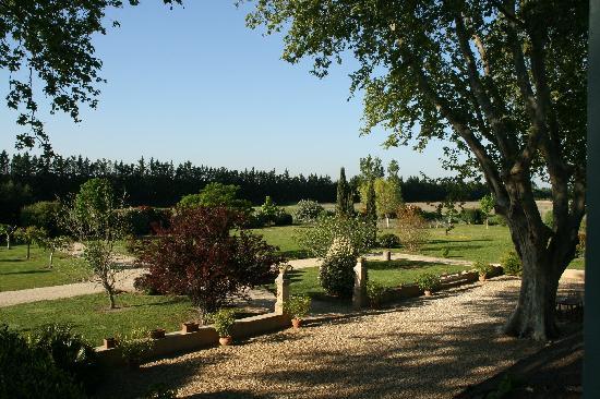 Clos Saint Esteve : The Garden