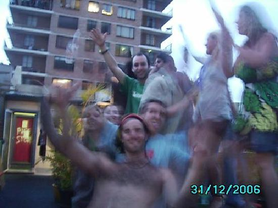 Sydney Central Backpackers : new years