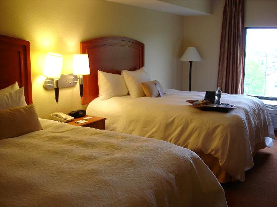 Hampton Inn Champaign/Urbana: room