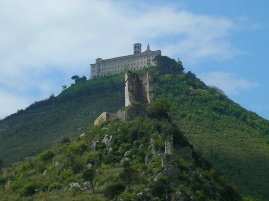 Rocca Janula and Montecassino