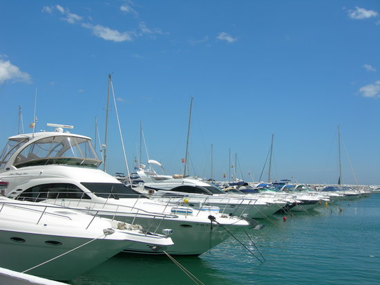 Marbella, Hiszpania: the boats!