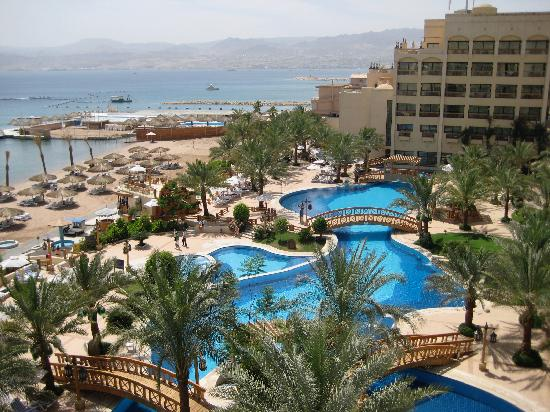 InterContinental Aqaba Resort: The view from our room.