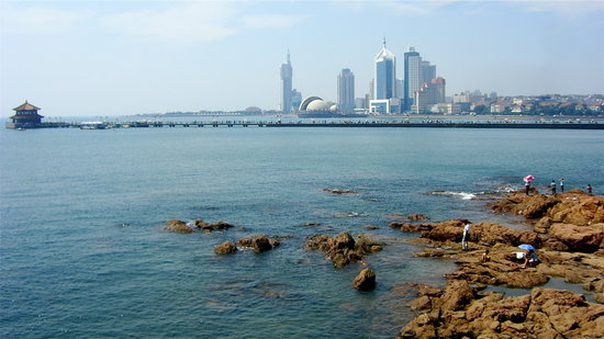 Циндао, Китай: Seaside Qingdao