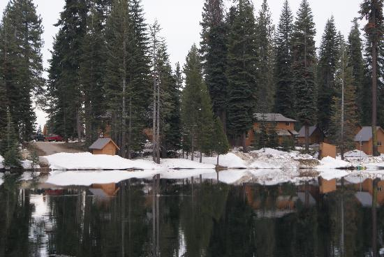 Lodge from across lake