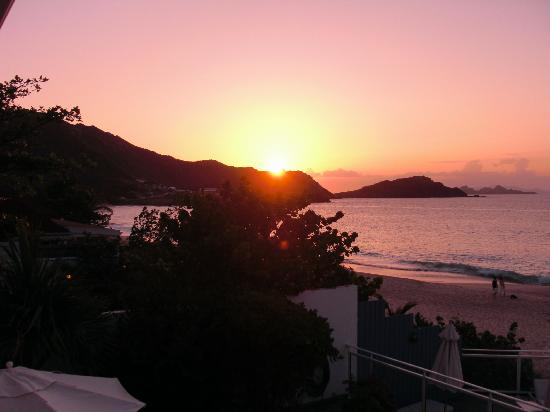 Cheval Blanc St-Barth Isle de France: Yet another wonderful sunset