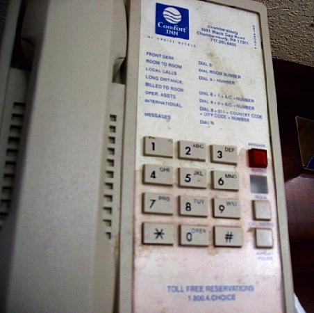 Comfort Inn Telephone