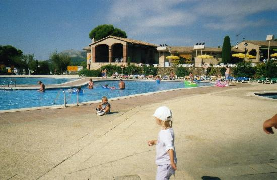 Camping Castell Montgri : time to leave, kids didnt want to!!