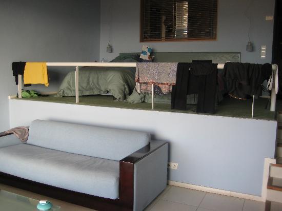 Hotel Des Arts Suites & Spa: vue de la chambre avec 2 lits