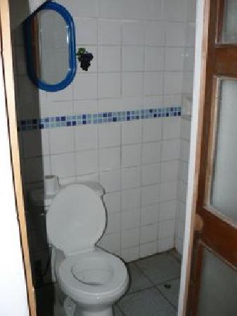 Hostal La Reyna: Badezimmer