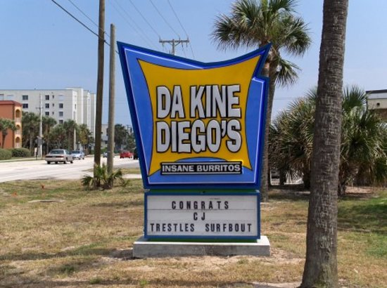 Photo of Mexican Restaurant Da Kine Diego's insane burritos at 1360 Highway A1a, Satellite Beach, FL 32937, United States