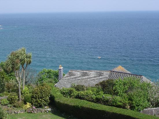 Blue Hayes Hotel: Blick vom Zimmer Richtung Meer