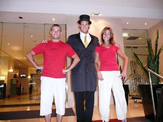 Radisson Blu Plaza Hotel Sydney : le hall black de service