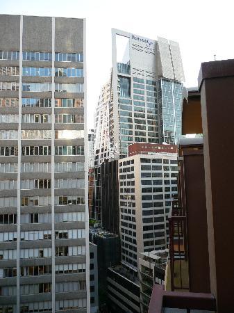 Radisson Blu Plaza Hotel Sydney : vue de la chambre