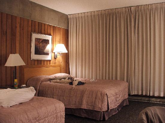 Lodge at Snowbird: Hotel room, two double beds