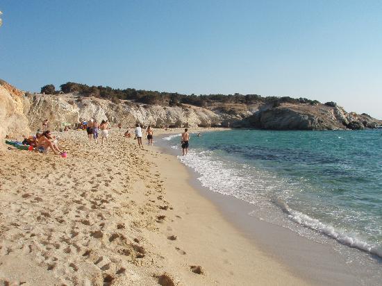 Sigma Studios: las playas de Naxos, alejadas del centro del pueblo