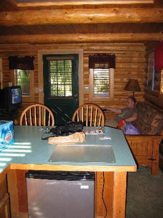 Great Northern Resort: Osprey downstairs