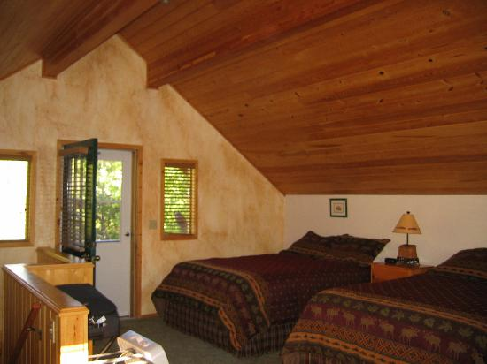 Great Northern Resort: Osprey bedroom upstairs