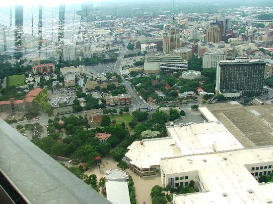 The Fairmount: The hotel from the Tower of the Americas