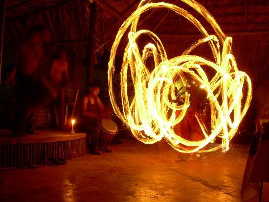 El Panchan: Fire Dancing