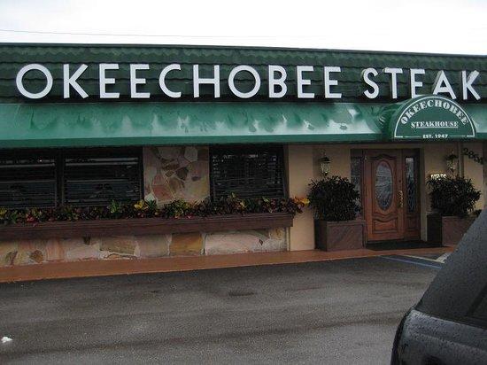 Okeechobee Steakhouse: front door