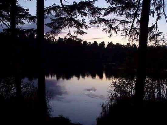Mew Lake Campground: Sunset