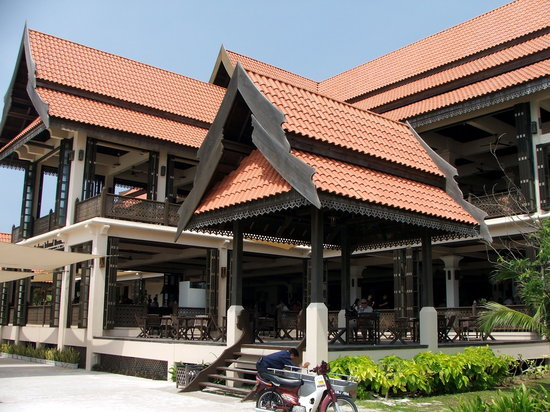 Laguna Redang Island Resort: The main entrance to Reception and the resort
