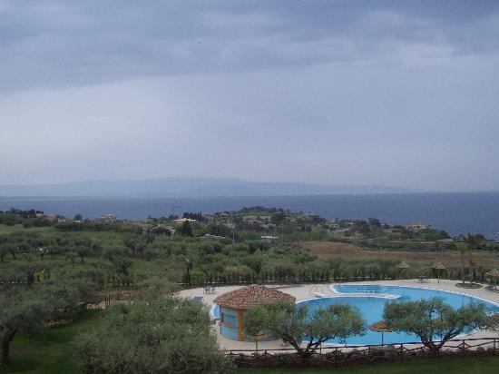 Hotel Residence Santa Chiara: View from all rooms