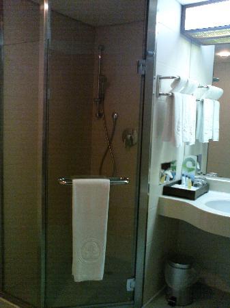 โฮวาร์ด พลาซ่า โฮเต็ล เกาสง: Shower area