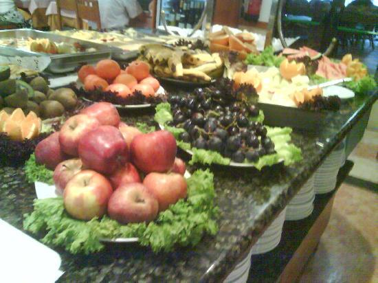 Hotel Caserio: buffet de fruit