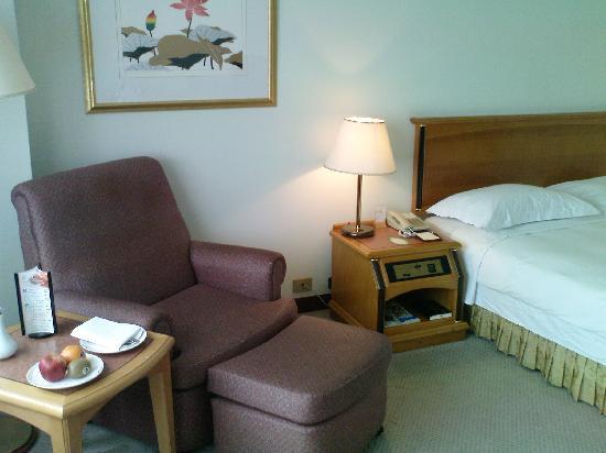 Howard Plaza Hotel Kaohsiung: 21st floor room
