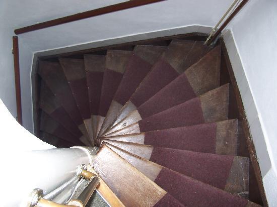 Hotel Keizershof: staircase!!