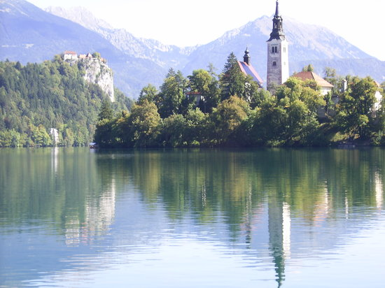 Bled, Slovenya: Beautifully scenic and peaceful place
