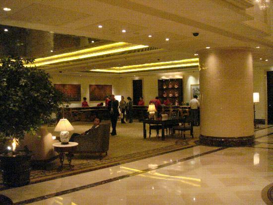 Shangri-La's China World Hotel : Reception.