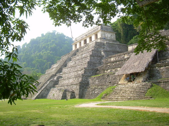 Palenque, Meksiko: Temple of the Inscriptions