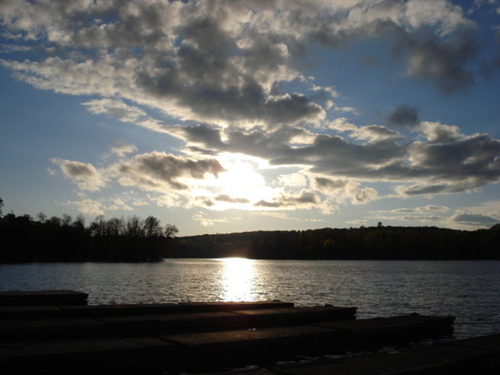 Haliburton, Canada : Sunset