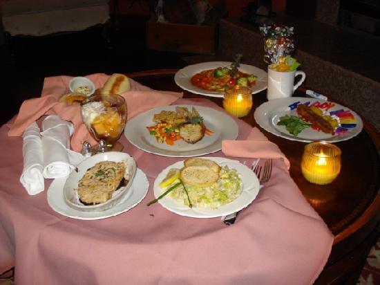 Bonnie View Inn : The Food
