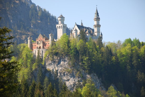 Schwangau, Germany: Neuschwanstein Castle