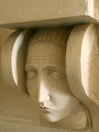 Cavtat, Chorwacja: Detail of a interior sculpture