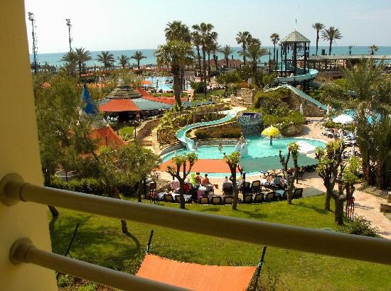 Limak Arcadia Golf & Sport Resort : 1 view from our private balcony