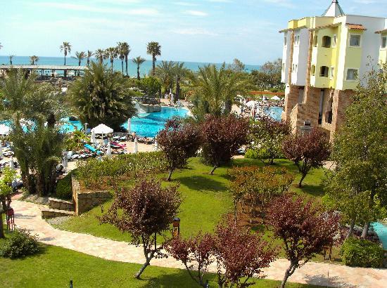 Limak Arcadia Golf & Sport Resort : 2nd view from bakcony