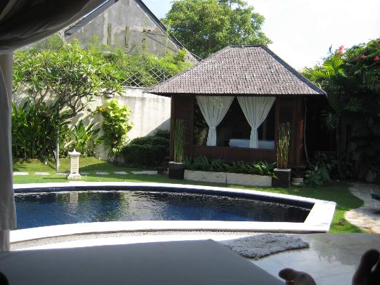 Villa Willy Bali: Private gazebo-like bedroom
