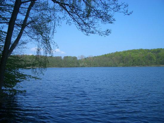 Usedom, Almanya: Wolgastsee und Zirowberg