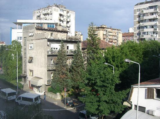 Hotel Sumadija: View from my room