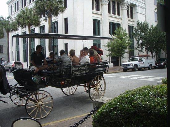 Historic Savannah Carriage Tours : Public Carriage Tour Savannah Georgia
