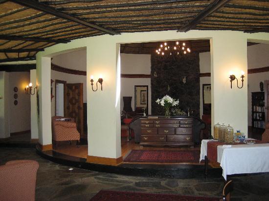 Idwala Boutique Hotel Johannesburg: The lobby
