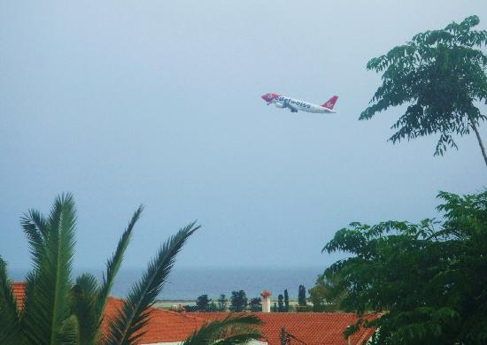 Samos Sun Hotel: view from my balcony