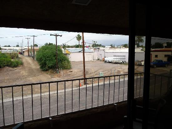BEST WESTERN Rancho Grande: Balcony View (or not)