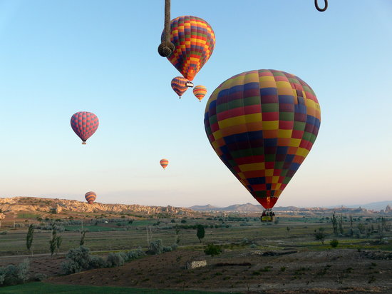 Ballooning above Cappadocia
