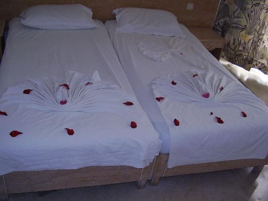 Decoracion camas picture of houda yasmine hammamet - Decoracion de camas ...