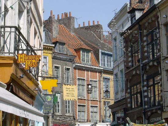 Lille, France: Street in the old city